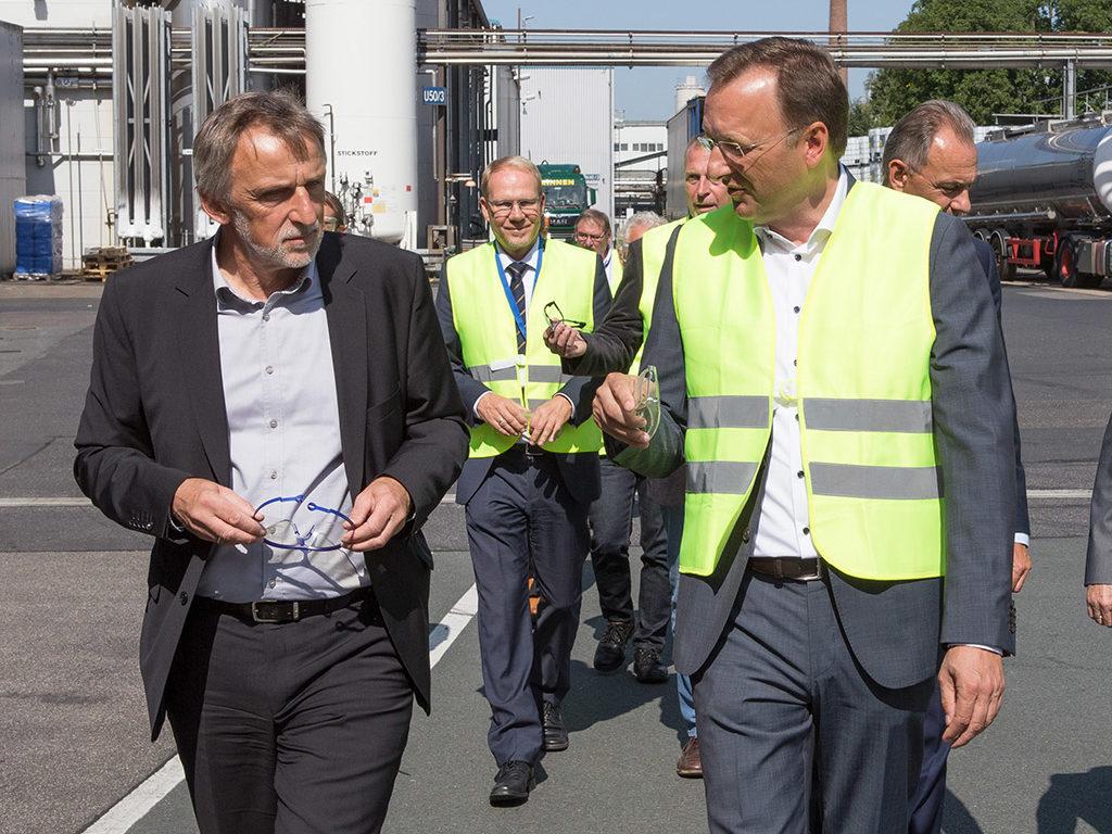 Politik-Gespräche bei Zschimmer und Schwarz in Lahnstein